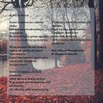 Jesień za oknem - tekst